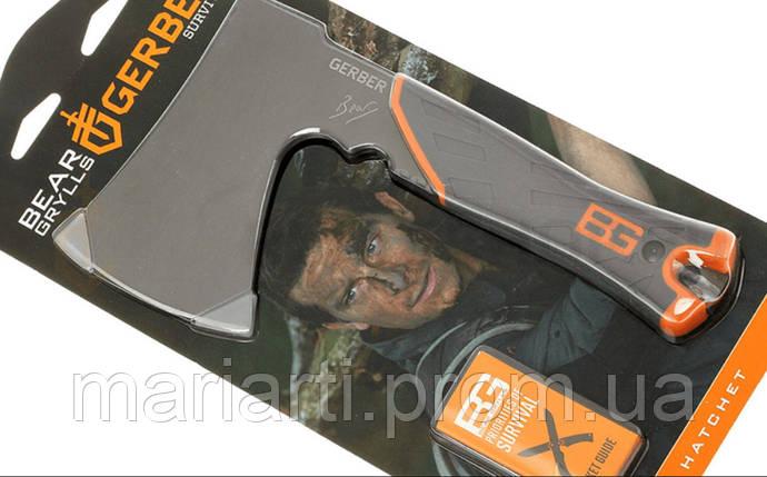 Топор походный Gerber Bear Grylls Hatchet, фото 2