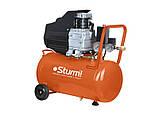 Воздушный компрессор Sturm AC9315 1.5 кВт 24л, фото 2