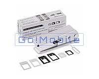 Степлер, ножницы, cutter, для обрезания сим-карточек Nano SIM BK-7295