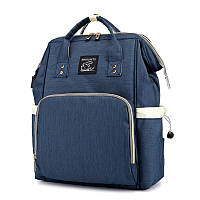 Сумка-рюкзак Maikunitu Mummy Bag Blue мультифункциональная зарядная сумка с USB Темно-синий 3002-, КОД: 1385368