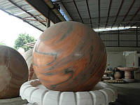 Большие гранитные шары