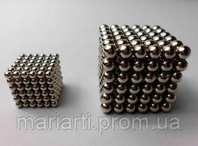 Головоломка NeoCube (Неокуб) 216 шариков, 3мм, Никель, фото 3