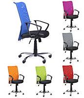 Компьютерное кресло АЭРО HB Сетка с подлокотниками в расцветках ТМ AMF 023231