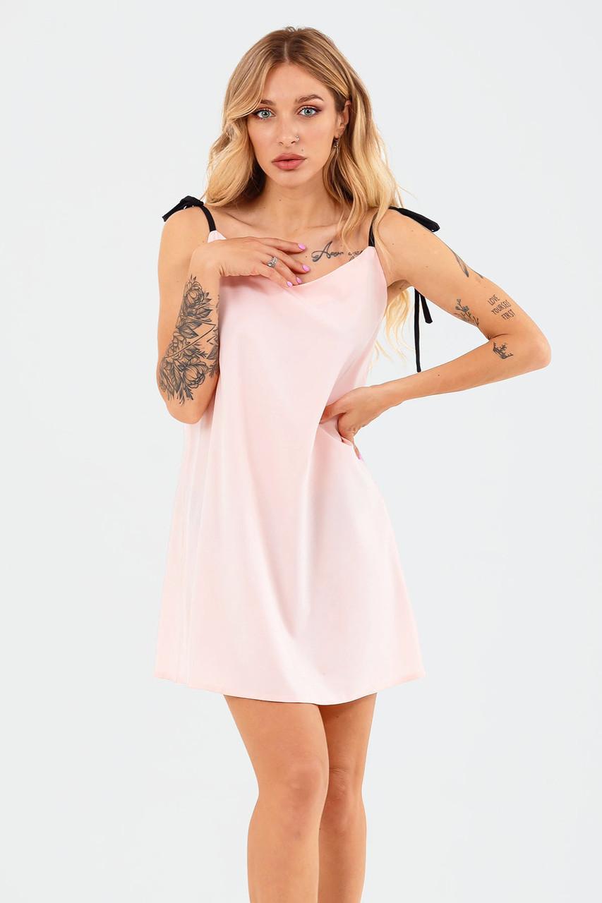 S, M, L | Молодіжне повсякденне плаття Lillian, персик