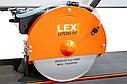Потужний плиткоріз 120 см LEX LXTC 250-127 / 2000 Вт / подьемный диск (Польща), фото 4