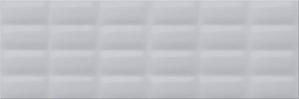 Плитка Opoczno / Grey Glossy Pillow Structure  25x75, фото 2
