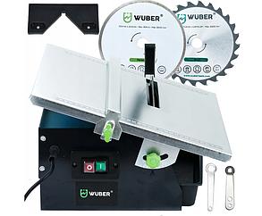 Плиткоріз електричний водяний Wuber | диск + пила в комплекті