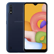 Смартфон Samsung SM-A015FZ (Galaxy A01 2/16Gb) (SM-A015FZBDSEK) Blue