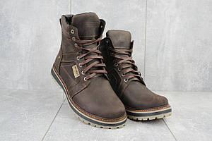 Мужские ботинки кожаные зимние коричневые Rivest 30к