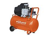 Воздушный компрессор Sturm AC93155 1.5 кВт 50л, фото 2