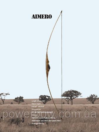 Akusta LONGBOW AIMERO Традиційний лук для стрільби