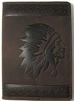 Обложка на паспорт Turtle B5102F Коричневый, КОД: 1638842