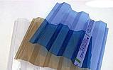Профільний полікарбонат Suntuf (1,26х2м) 55% синій 0.8мм, фото 3