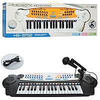 Пианино - синтезатор с микрофоном (ЧЕРНОЕ) арт. 3702