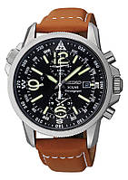 Мужские часы Seiko  SSC081Р1 Solar Alarm Chronograph