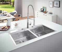 Сталеві кухонні мийки