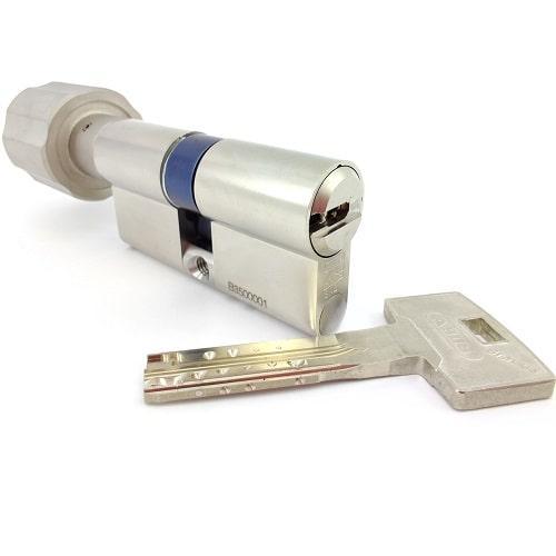 Цилиндровый механизм ABUS BRAVUS MAGNET 3500 MX 70/70 - ключ/тумблер