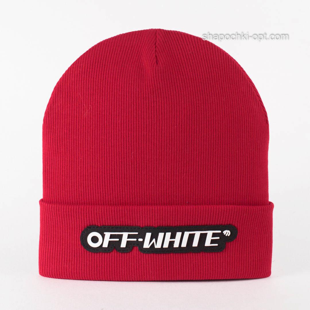 Трикотажная детская шапка Джим красная