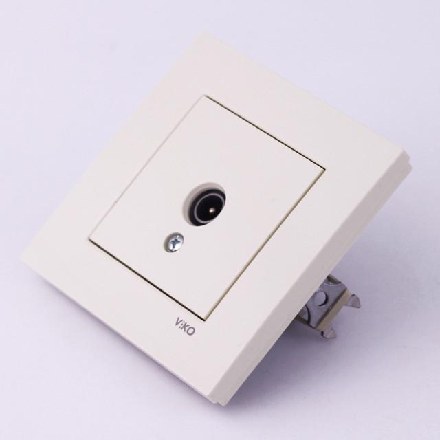 Розетки, выключатели VI-CO Karre белого цвета