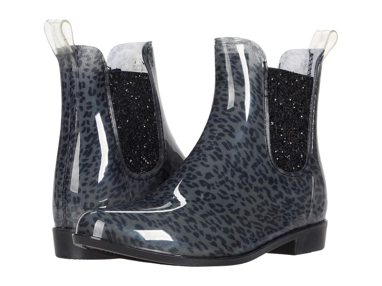 Ботинки/Сапоги (Оригинал) SKECHERS Puddler - Wild Gal Leopard Charcoal