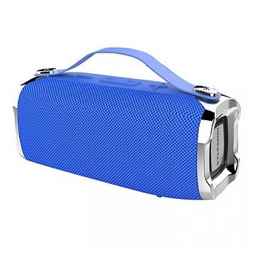 Колонка mini speaker Hopestar H36 bluetooth+power bank+mic blue