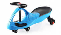 Детская машинка Smart car blue с полиуретановыми колесами sm-bp