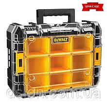 Органайзер DeWALT DWST1-71194  40х332х145 ммTSTAK V, прозрачная крышка, 7 чашек для деталей и принадлежностей,