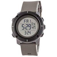 Мужские Оригинальные наручные часы Skmei 1212 Gray-White Small