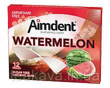 Жувальна гумка без цукру зі смаком тропічних фруктів Aimdent TROPICAL, 12 шт/уп (жевачка, жуйка)