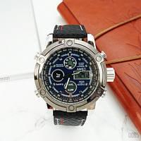 Мужские Оригинальные наручные часы AMST 3022 Black-Silver-Blue