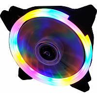 Вентилятор для корпусу Cooling Baby Rainbow LED (12025HBRB-1), фото 1