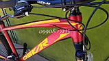 """Велосипед Oskar 27,5"""" М103 бордовый, фото 4"""