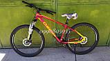 """Велосипед Oskar 27,5"""" М103 бордовый, фото 2"""