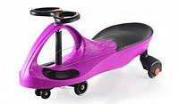 Детская машинка Smart car purple с полиуретановыми колесами sm-pp