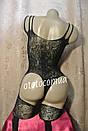 Бодисьют в упаковке сексуальная боди-сетка с рисунком сексуальное белье эротическое белье, фото 4