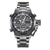 Качественные мужские армейские наручные часы AMST 3003 All Black Metall