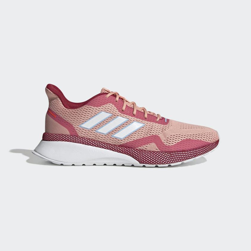 Кроссовки для бега женские оригинальные Adidas Swift Run персиковые