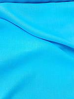 Льняная легкая ткань бирюзового цвета, фото 1