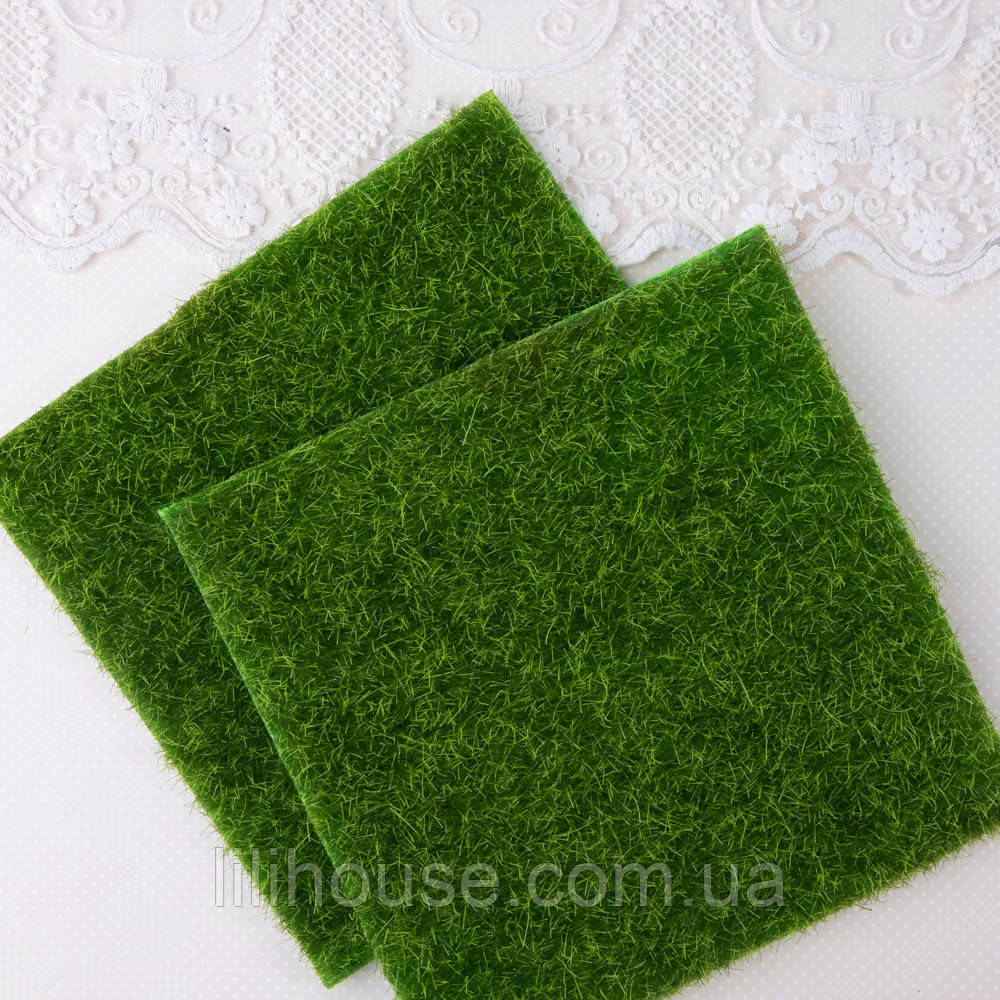 Коврик-газон Имитация Травы 15*15 см