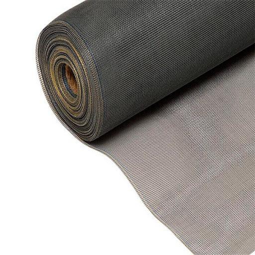 Москітна сітка в рулоні 1.6х35 м., 1,6х1,8мм, 56м2 Сіра (63794)