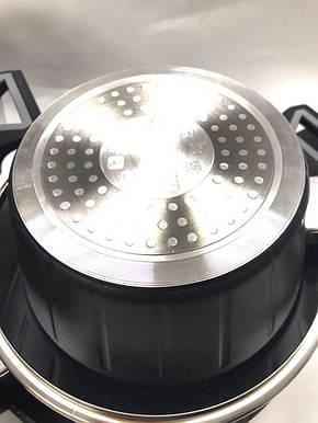 Набор кастрюль с мраморным покрытием 7 предметов Benson BN-344, фото 2