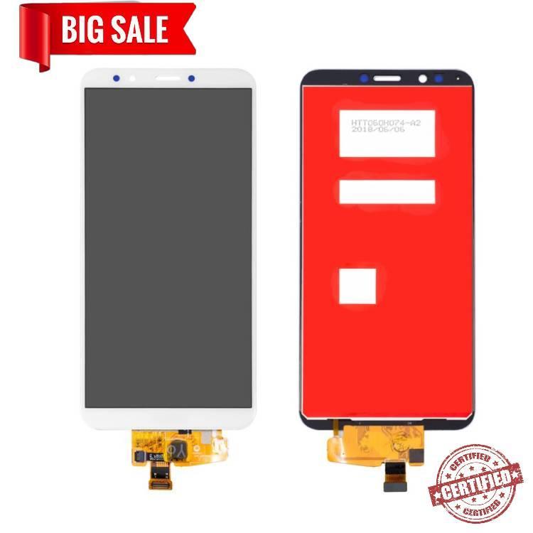 Модуль (сенсор + дисплей) для Huawei Y7 2018 LDN-LX1, Honor 7C (LND-AL30), Honor 7C Pro (LND-L29) .. белый