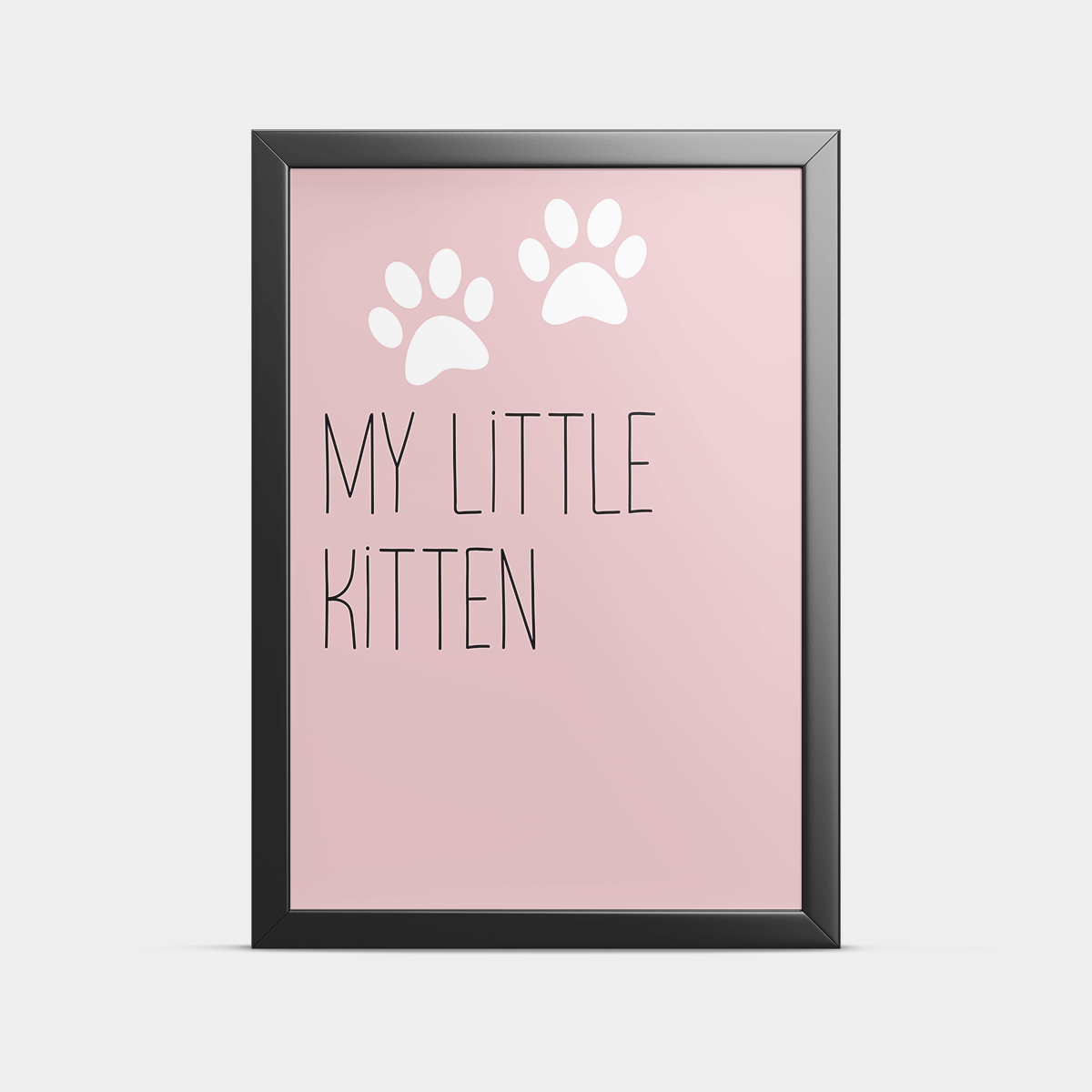 Постер на стену My little kitten 30*40 см