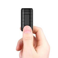 Мини диктофон на батарейках Yescool A50+ Черный 100313, КОД: 1439094
