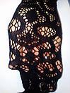 Панчохи чулки с узором с поясом сексуальное белье эротическое белье, фото 6