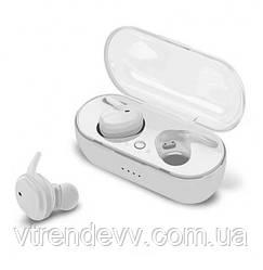 Наушники беспроводные вакуумные TWS4 Bluetooth 5.0 Белые