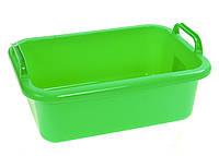 Пластиковый контейнер с ручками Gies 36 х 26 см Салатовый M18-470695, КОД: 1760537