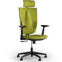 Кресло KULIK SYSTEM SPACE Ткань с подголовником без строчки Оливковый 19-901-BS-MC-0513, КОД: 1697054