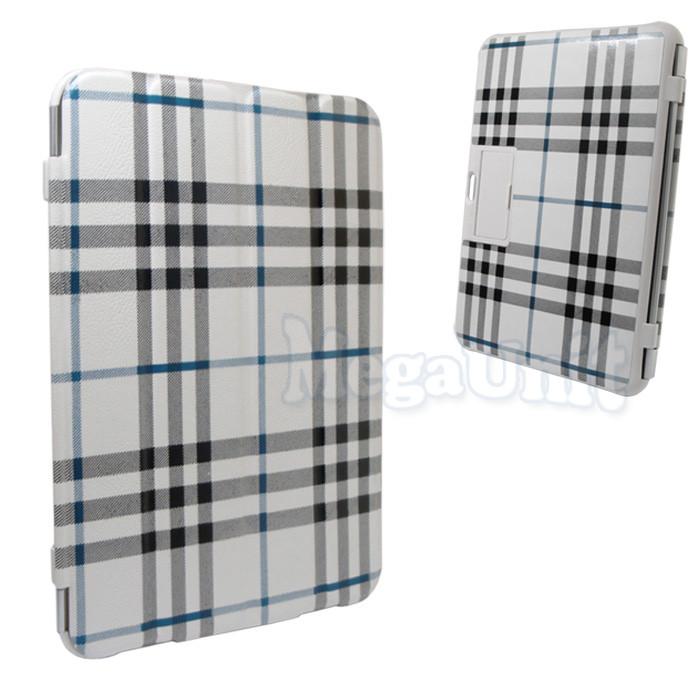 Чехол-обложка для Samsung p7500/p5100 Galaxy Tab 1/2 10.1 (в клеточку)