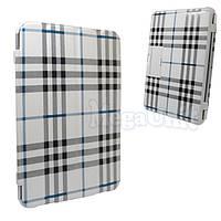 Чехол-обложка для Samsung p7500/p5100 Galaxy Tab 1/2 10.1 (в клеточку), фото 1